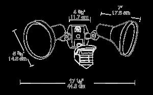 RAB Lighting RAB STL360H Dimensions