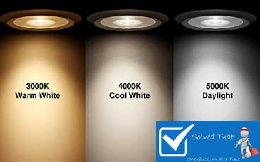 WHAT DOES LIGHT BULB COLOR TEMPERATURE MEAN?