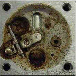 Ethanol Phase Separation Corroded Carburetor