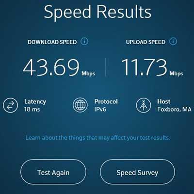Victony Powerline Network Adapter Speed Results Xfinity