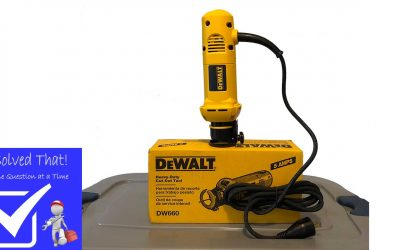 DEWALT CUT-OUT TOOL DW660
