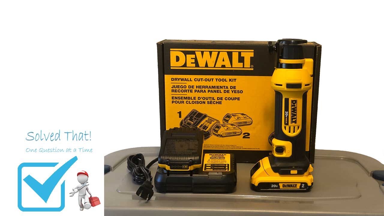 Picture of a DEWALT DRYWALL CUT-OUT TOOL KIT DCS551D2