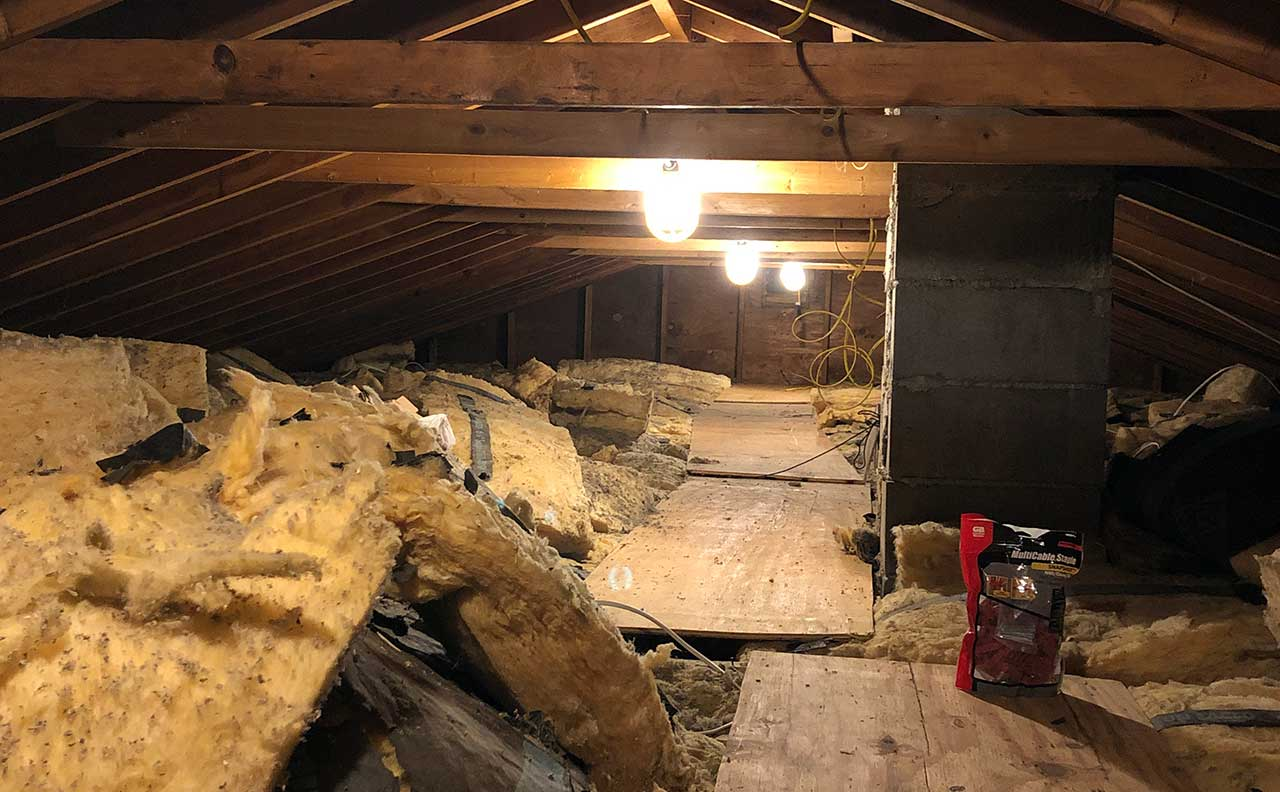 Picture of my attic