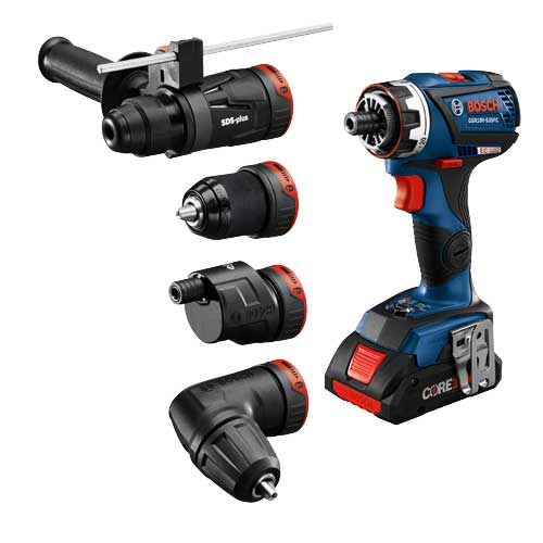 Picture of a Bosch 18v Flexiclick 5-In-1 Drill Driver